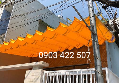 Mái hiên di động nhà ở đường Hà Huy Tập Đà Nẵng