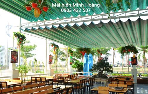 Dự án mái che lấy sáng nhà hàng Raibow Đà Nẵng